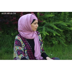 Hijab Butterfly Vieux Rose