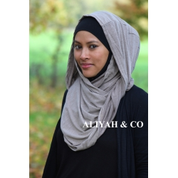 Snood taupe chiné