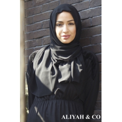 HIJAB Rectangle Noir