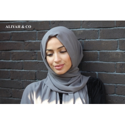 Hijab Rectangle Taupe