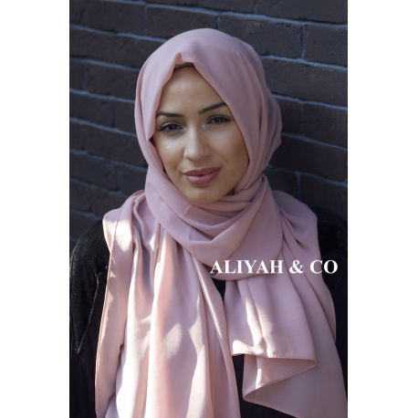 Hijab Rectangle Rose