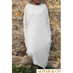 Tunique Pull Gris