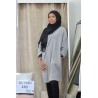 Maxi Pull Chessy Gris